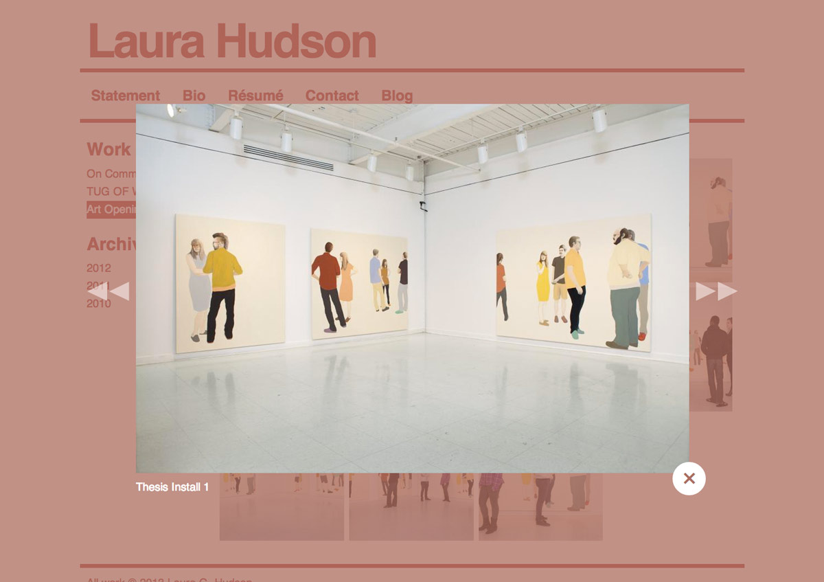 Laura Hudson website